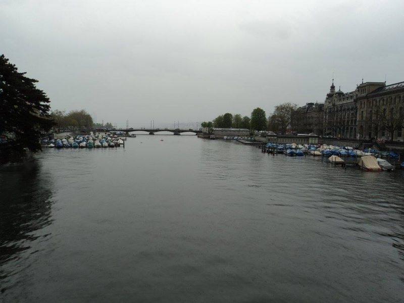 River Limmat in Zurich