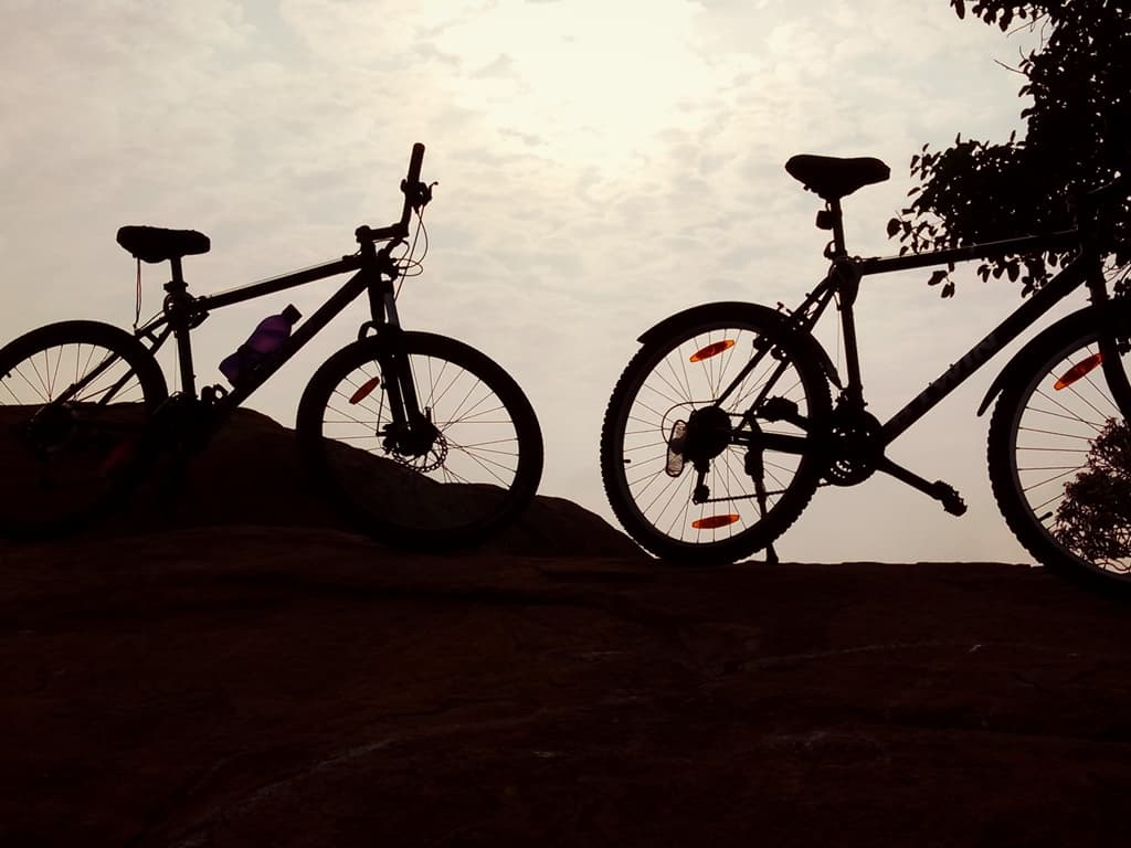 Thurahalli forest cycling