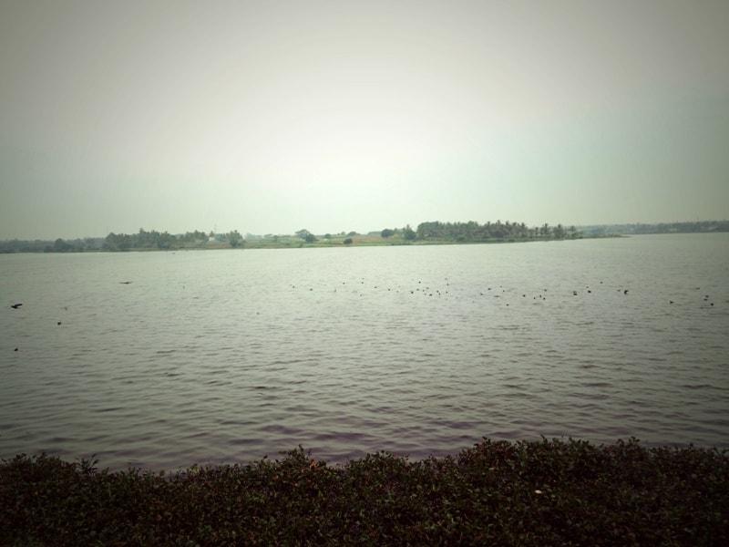 Kelavarapalli dam early morning