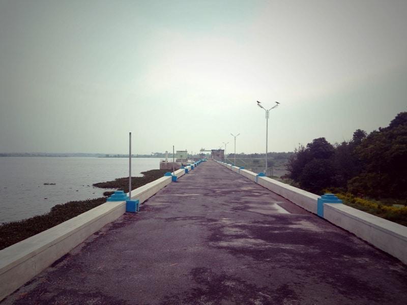 Kelavarapalli dam entrance