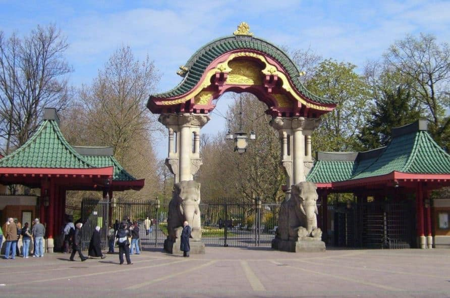 Berlin Zoological Garden Entrance