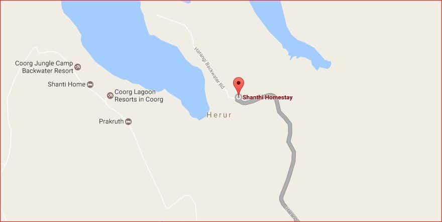 Shanthi Homestay and beyond near Harangi backwaters