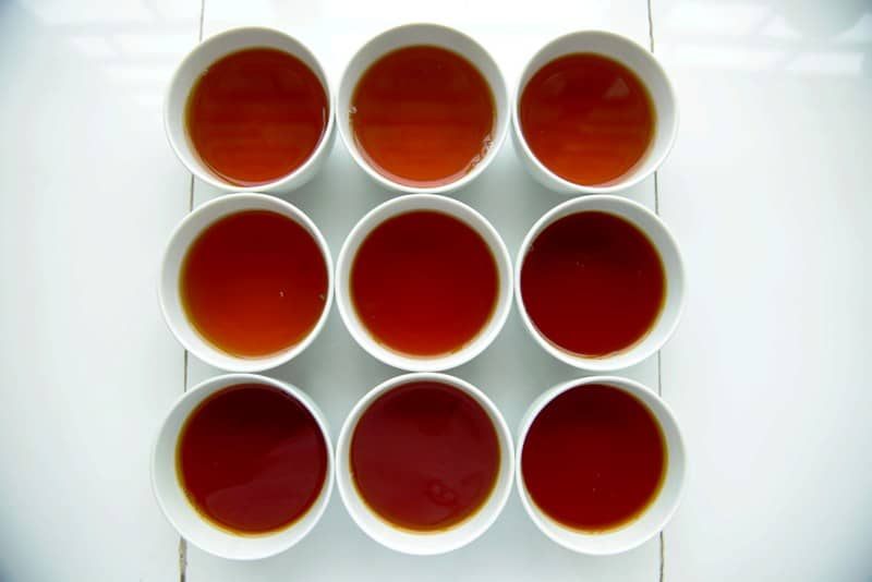 white tea photographed