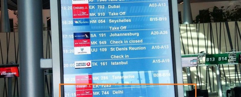 Air Mauritius flight cancelled