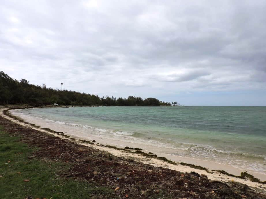 Bras d'Eau Public Beach