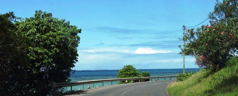 Coastal road mauritius