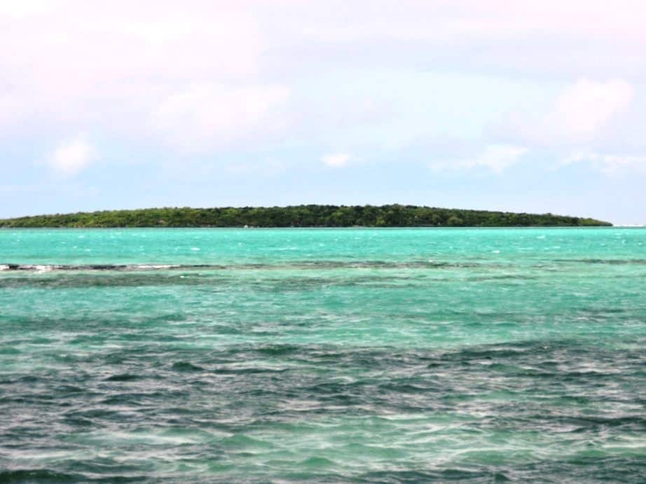 Ile Aux Aigrettes island view from Pointe Jerome