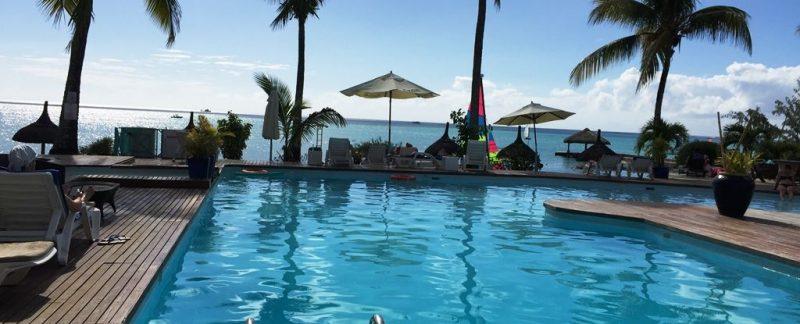 Swimming Pool, Coral Azur Hotel in Mauritius