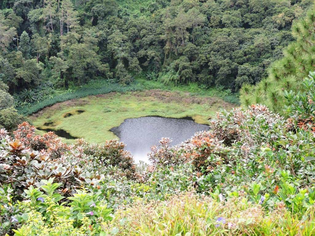 Trou Aux Cerfs- The volcanic crater