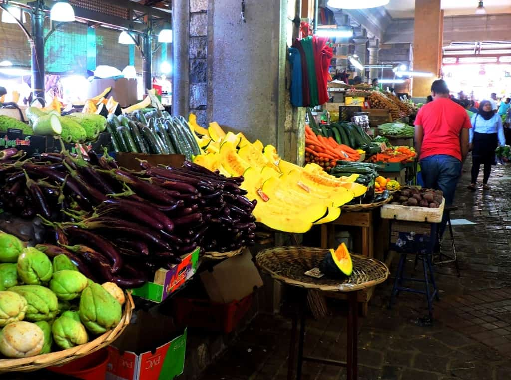 Vegetable market, Port Louis, Mauritius