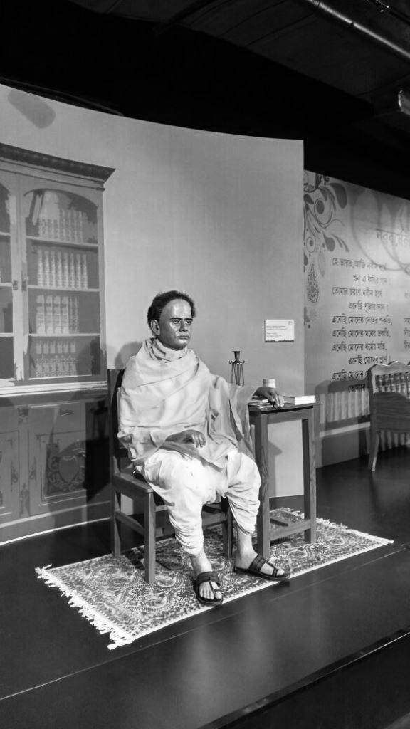 Vidyasagar statue at Kolkata wax museum