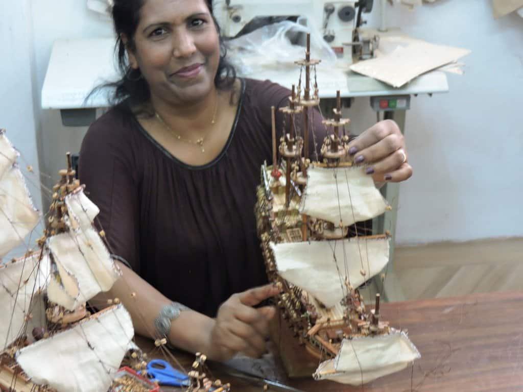 small model ships