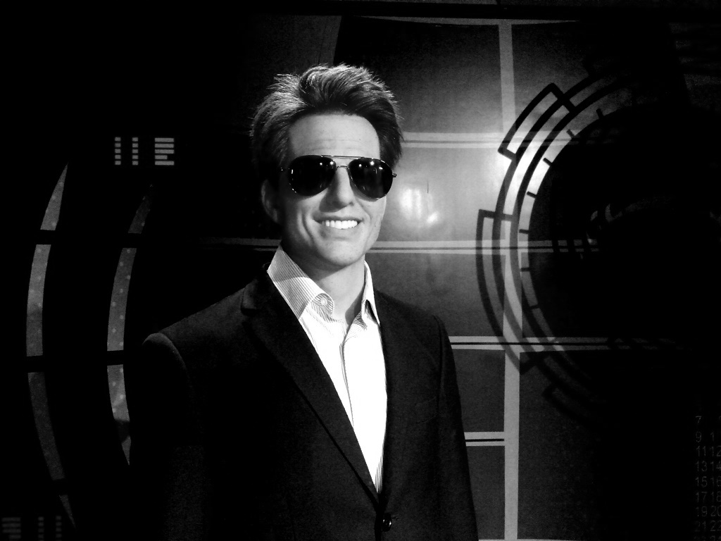 tom cruise statue at Kolkata wax museum