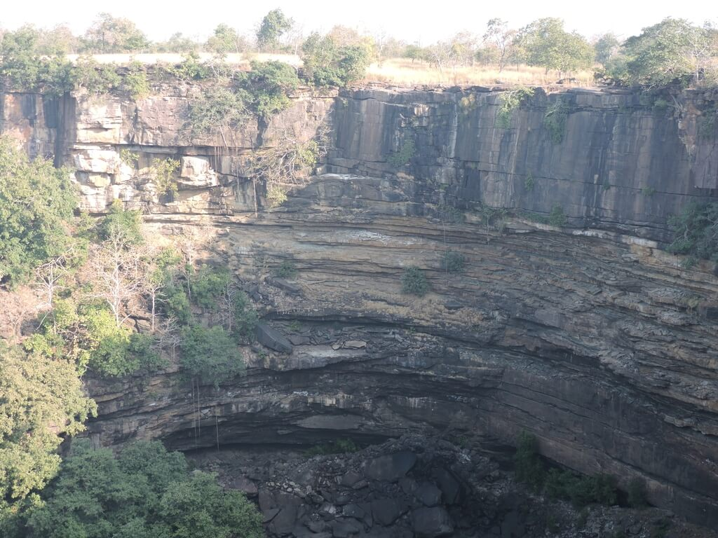 Gorge at Panna tiger reserve