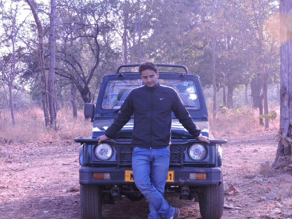 Panna tiger reserve safari Gypsy