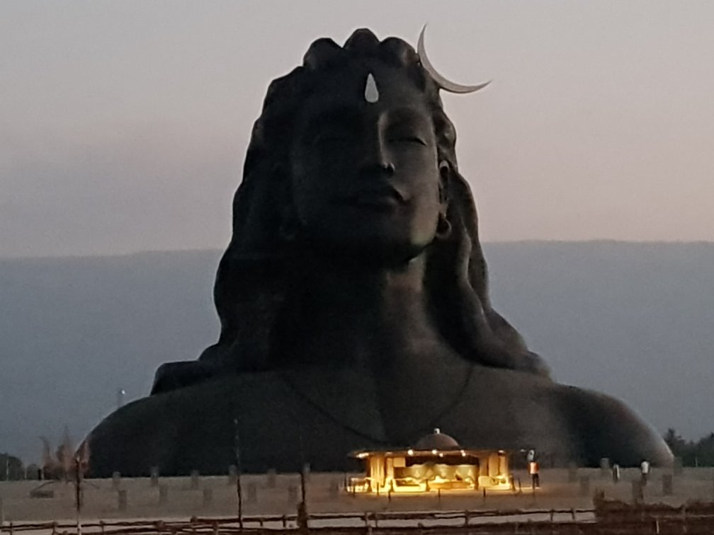 Adiyogi Early Morning