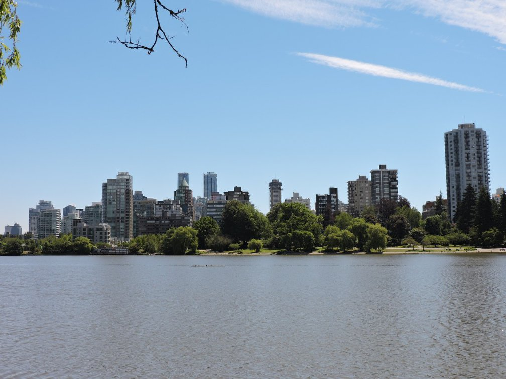 Across Lost Lagoon in Stanley Park