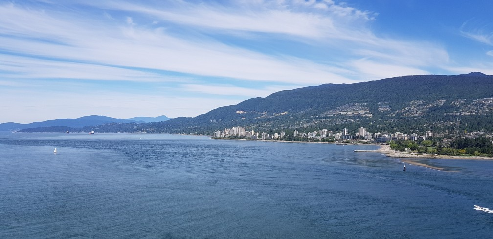 Other Side of Vancouver from Stanley park