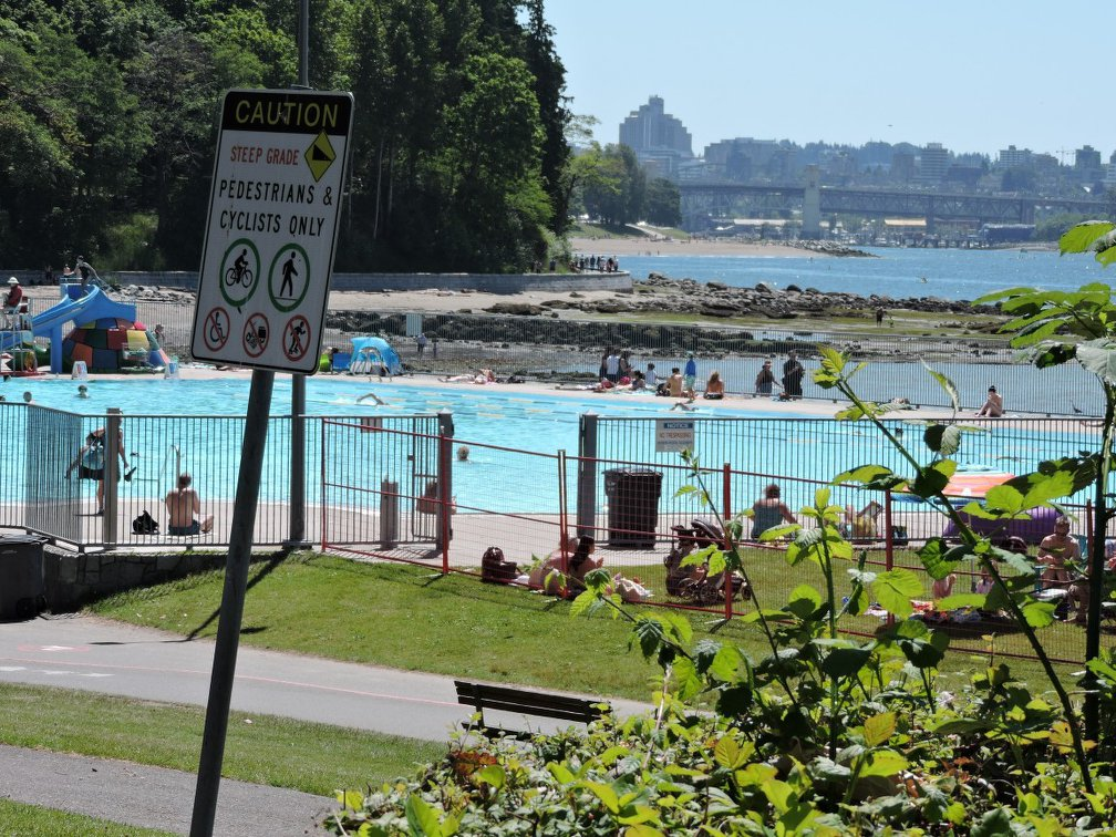 Second beach swimming pool