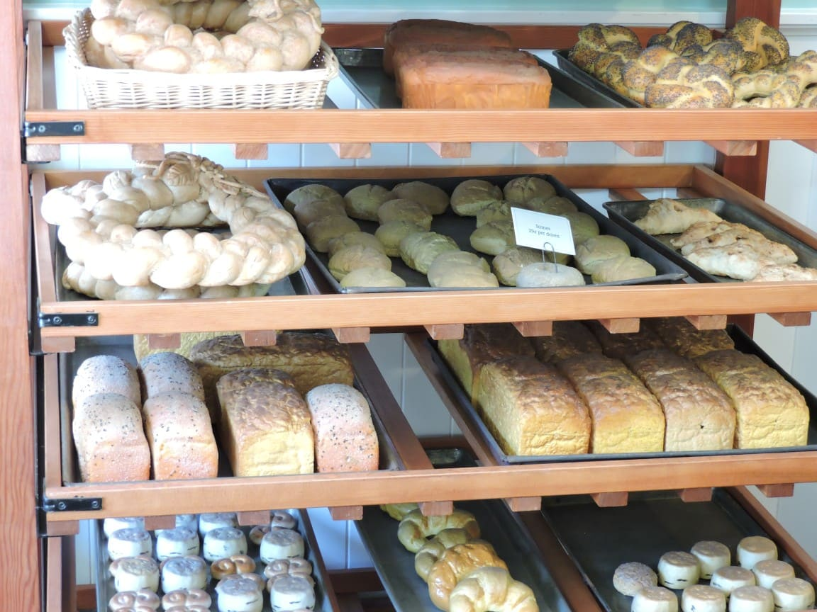 Bread at the bakery shop