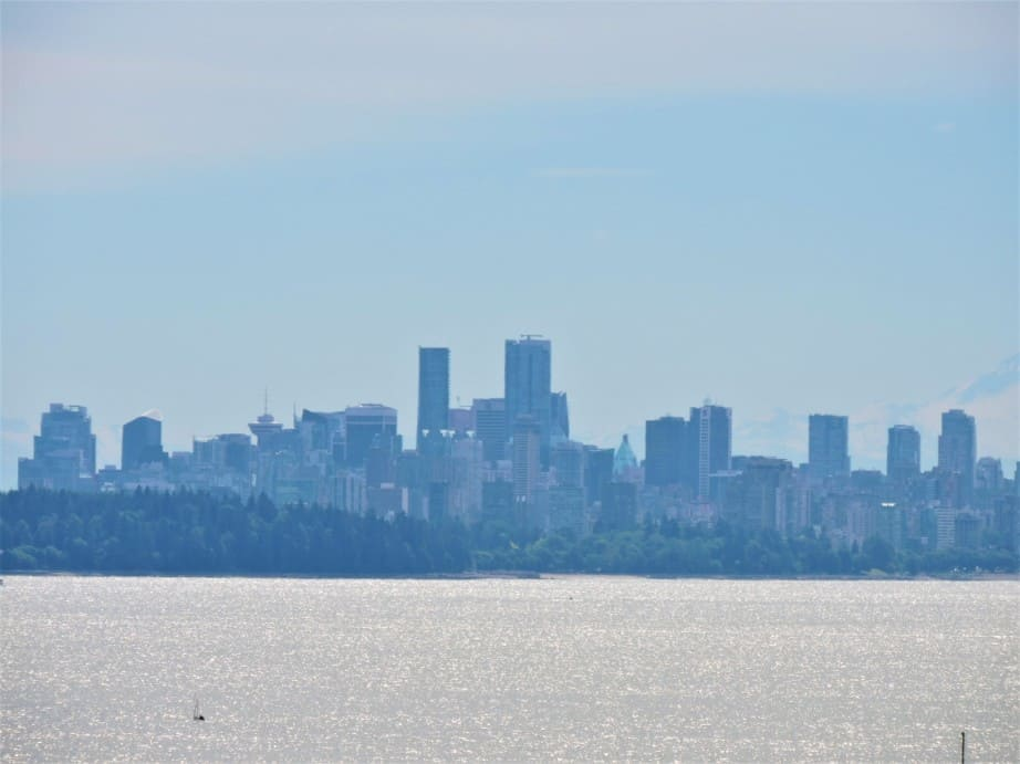 City of Vancouver from Lighthouse park