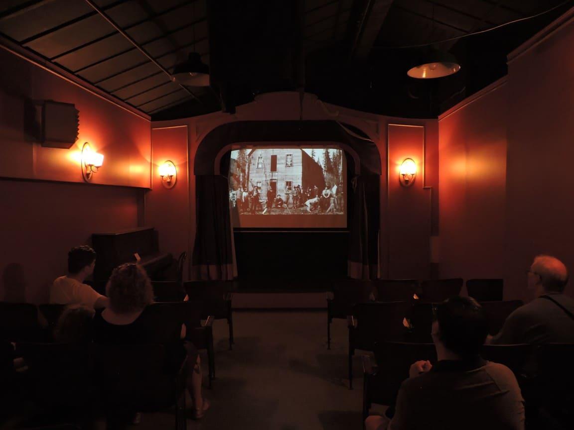 Inside central park theatre