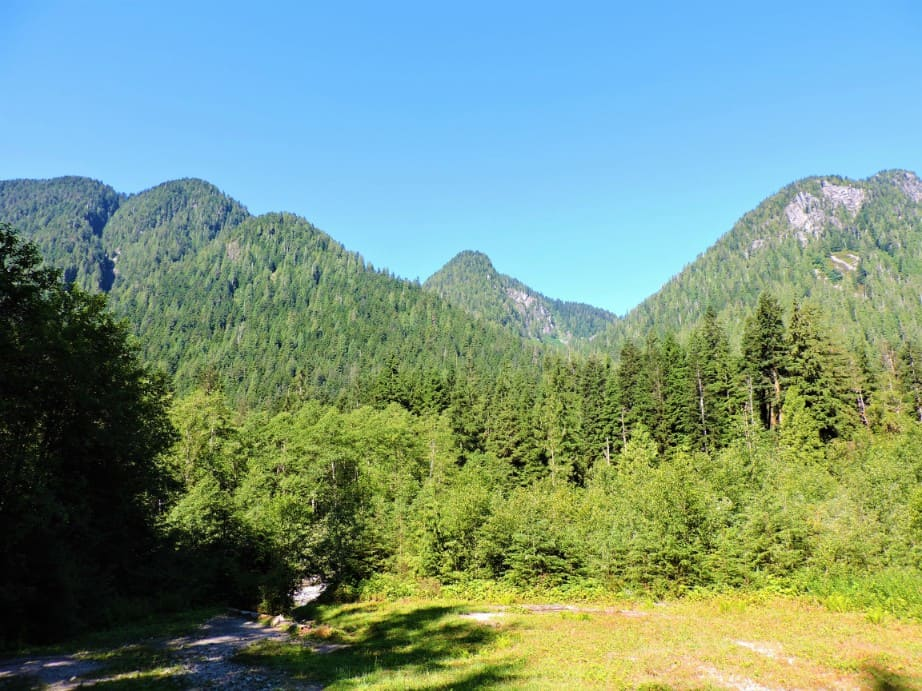 Near Headwaters trail