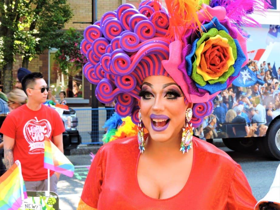 Vancouver Pride Parade Festival Closeups (1)