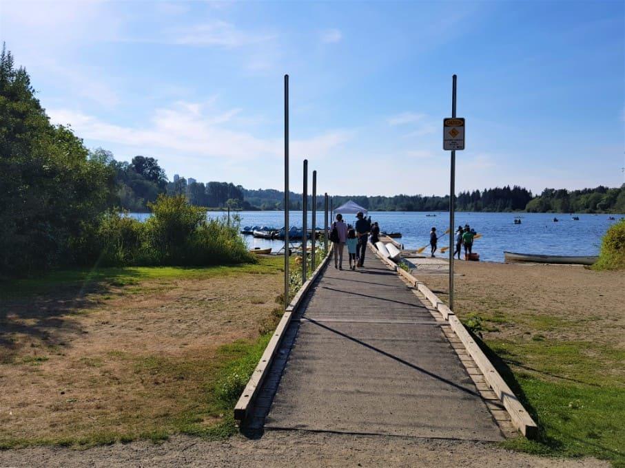 Deer Lake Park Boating Point