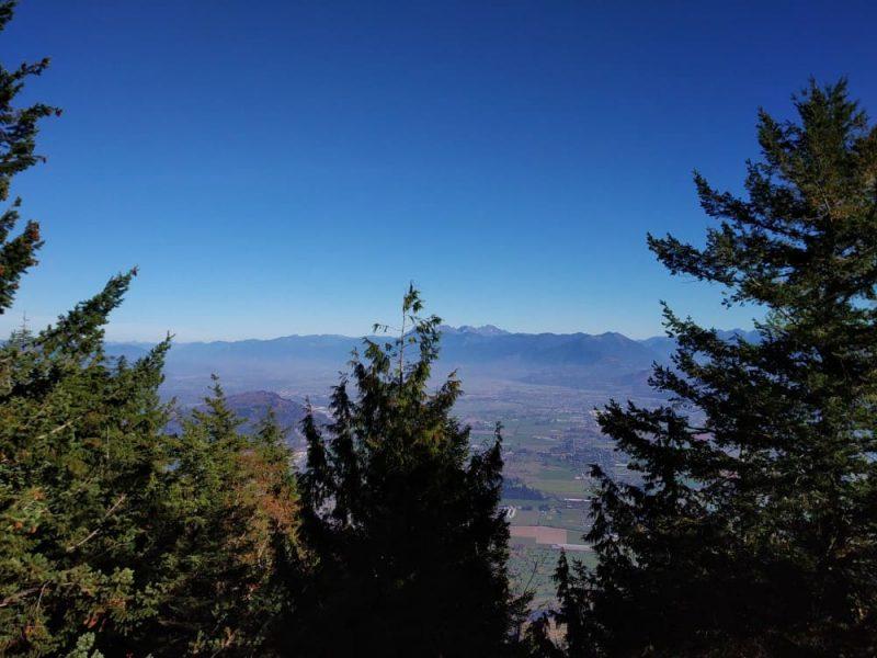 From Sumas Mountain Peak
