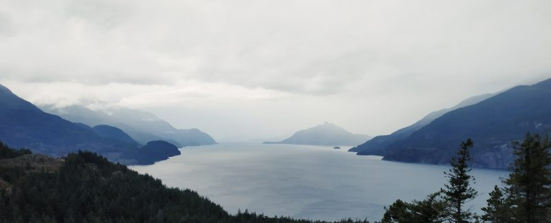 Howe sound view from Murrin park