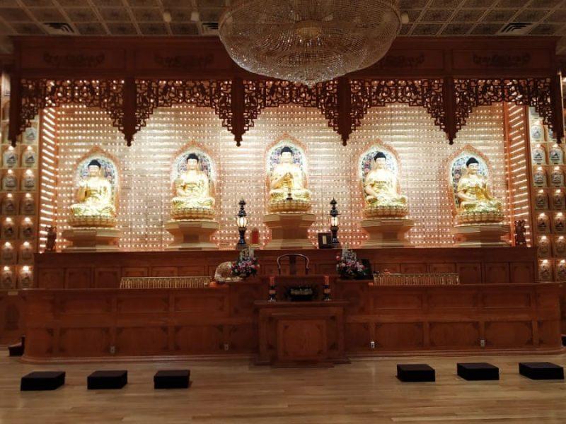 Fo Guang shan temple Buddha statue