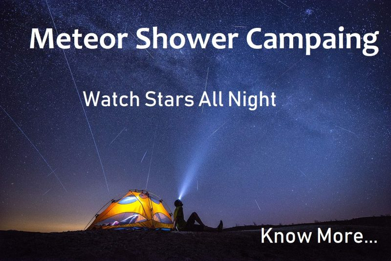 Meteor Shower Camping near bangalore