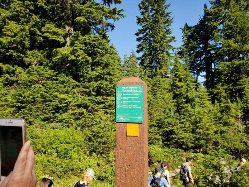 Mount Seymour 3.2 Km