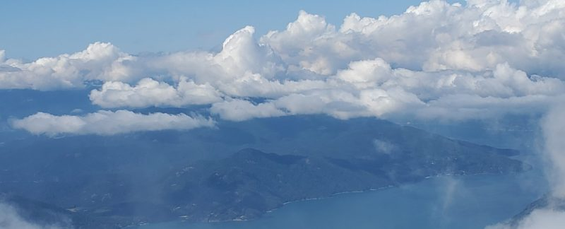 Howe Sound from Brunswick Mountain