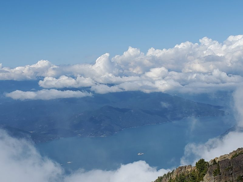 Howe Sound from Brunswick Mountain