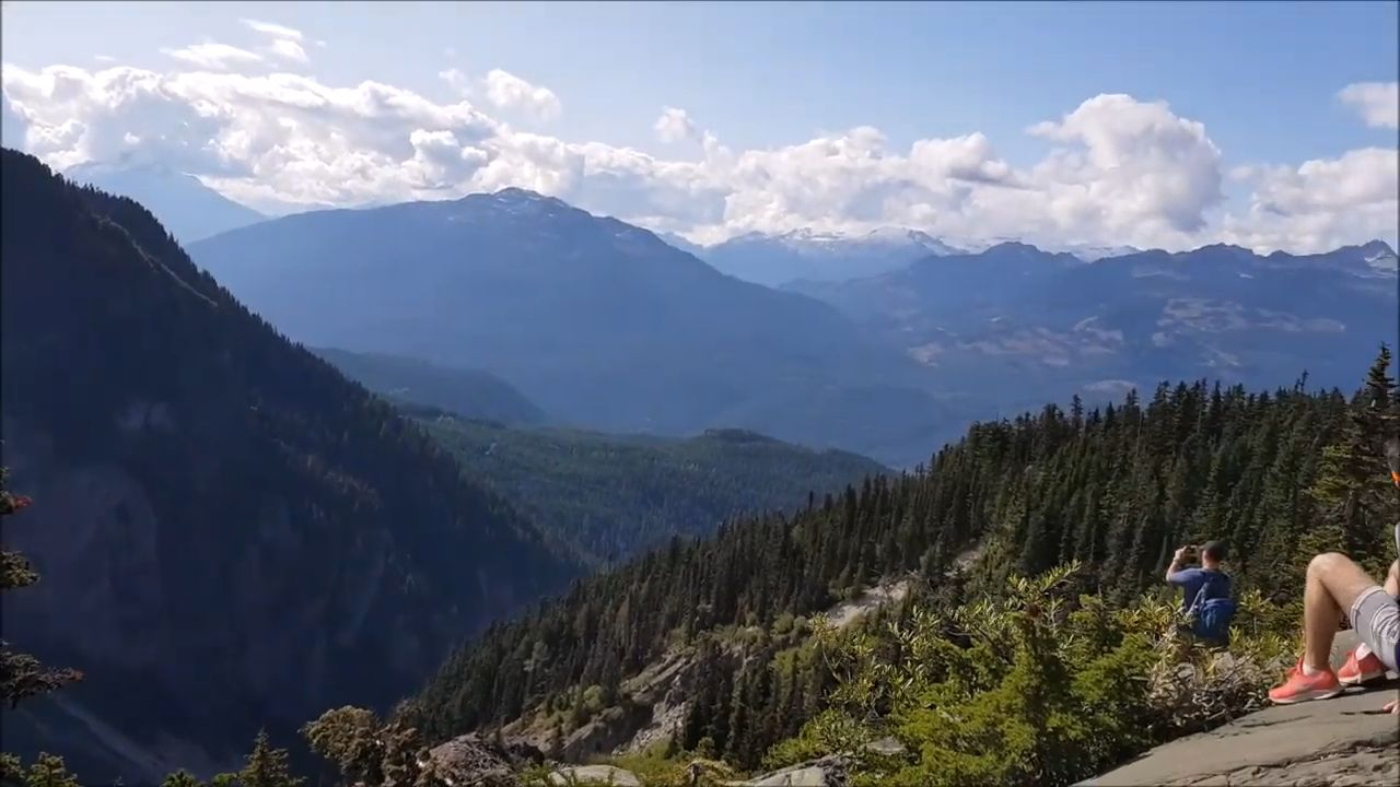 one of the viewpoints on black tusk hike