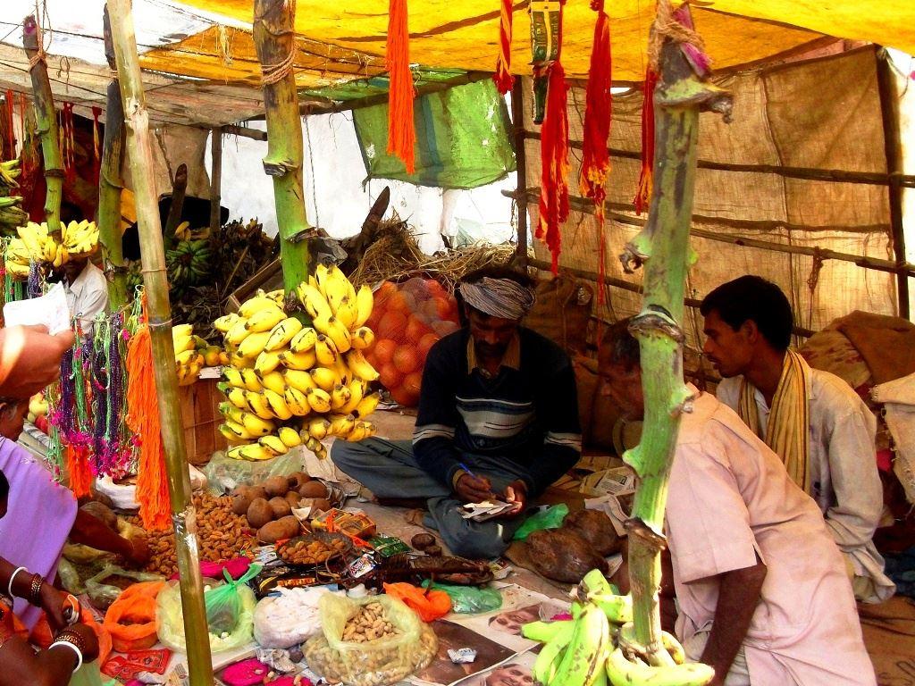A local village shop for chhath