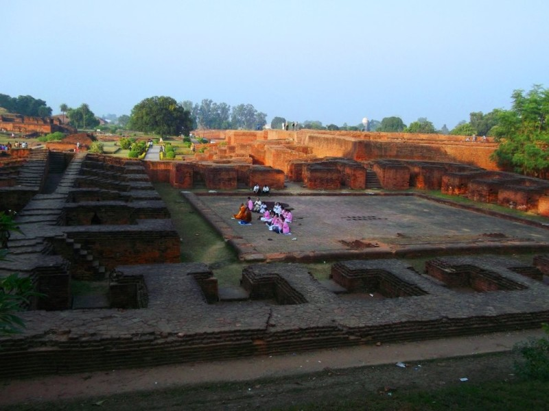Cooking hall of Nalanda university