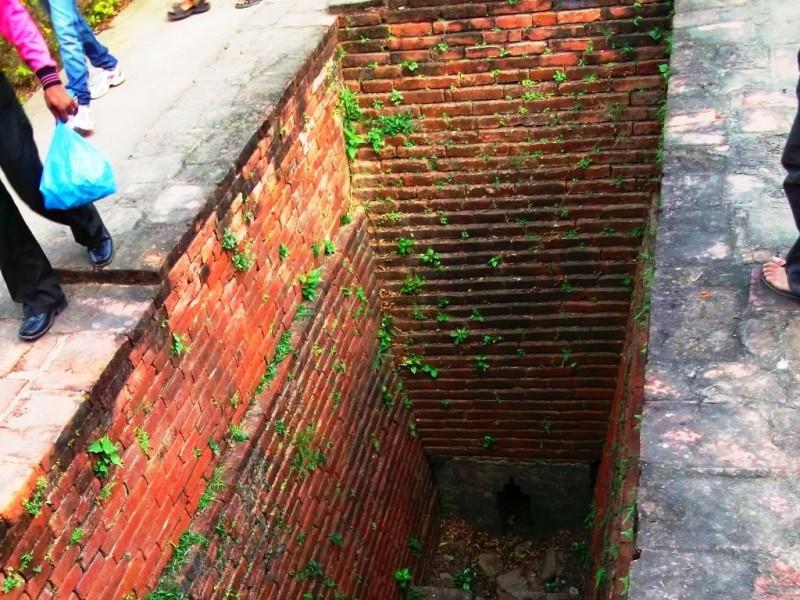 Drainage system, Nalanda univeristy