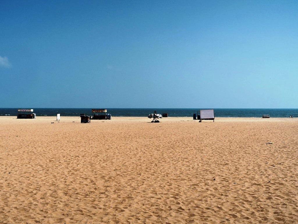 Elliot beach or Besant nagar beach