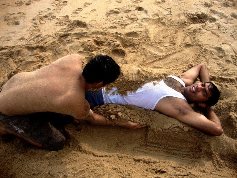 Fun at auro beach