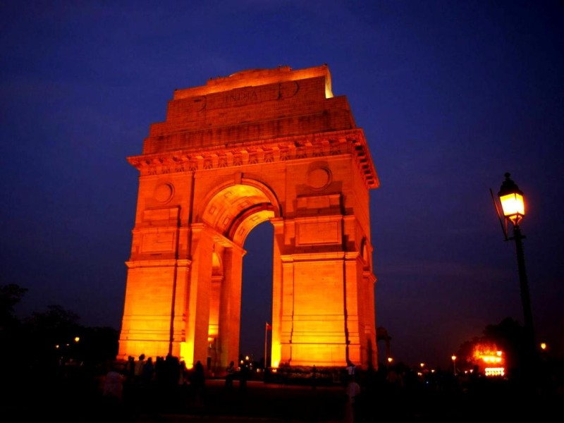 India gate in Evening