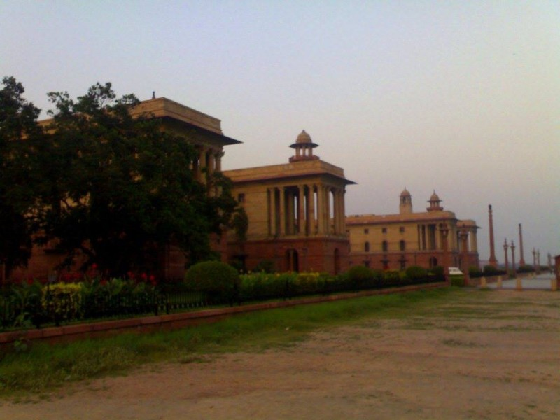 Minsitry of Defence office on rajpath