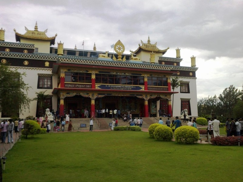 Monastery at the golden temple