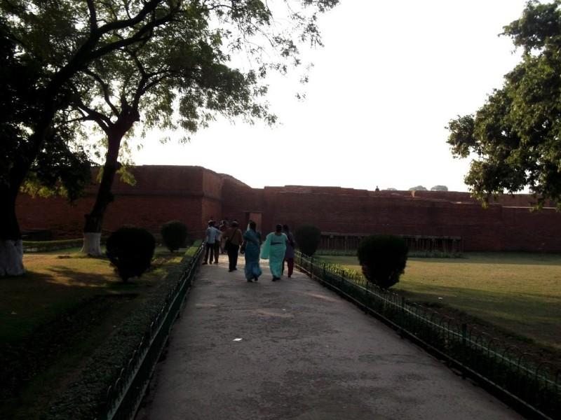 Nalanda university site entrance
