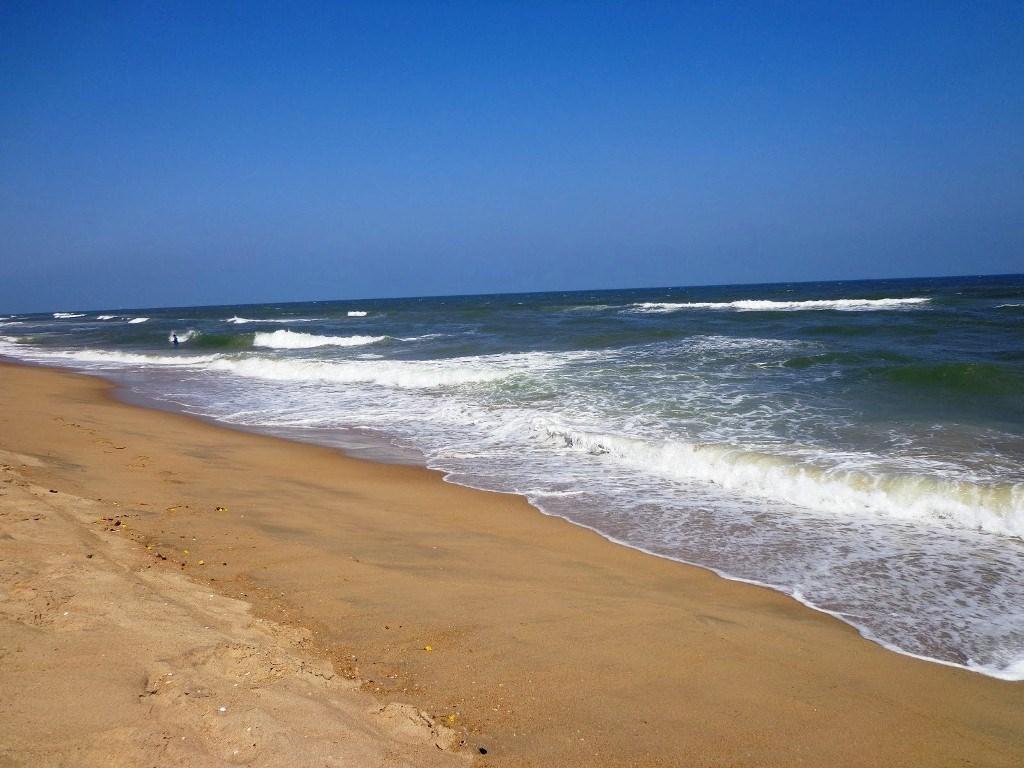 New beach near Kottivakkam along ECR