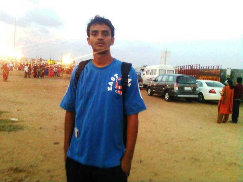On besant nagar beach