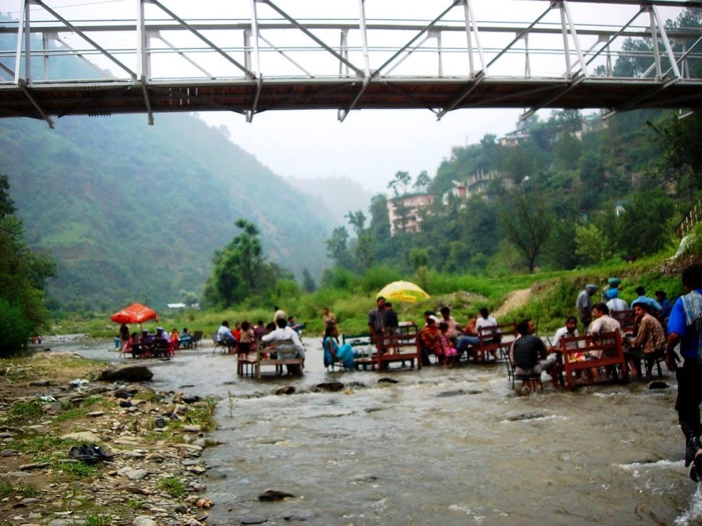 Sadhupul open river restaurant