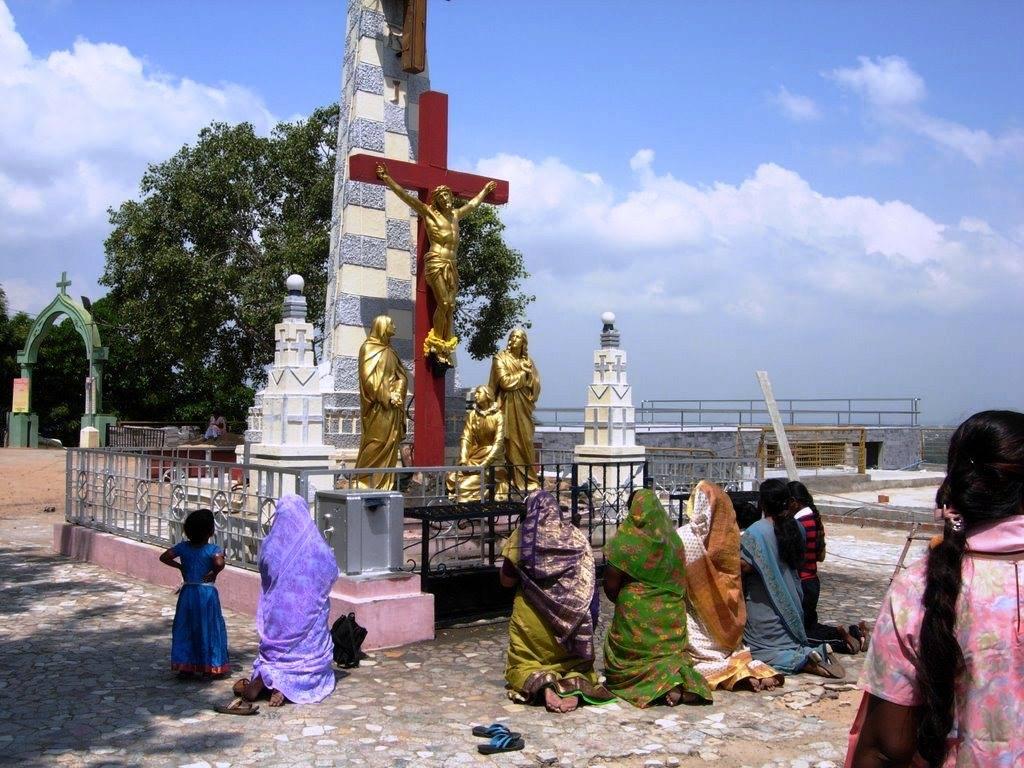 St. thomas mount cross